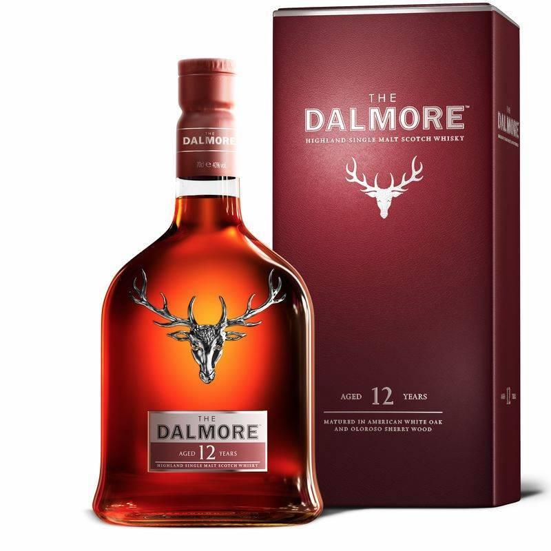 【宅酒公社】DALMORE/大摩12年苏格兰单一麦芽威士忌700ml单瓶装