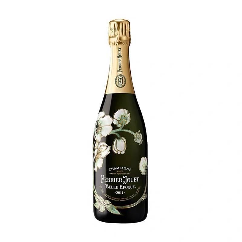【宅酒公社】巴黎之花PerrierJouet法国香槟气泡酒/起泡酒 原装进口白葡萄酒 美丽时光年份香槟750ml