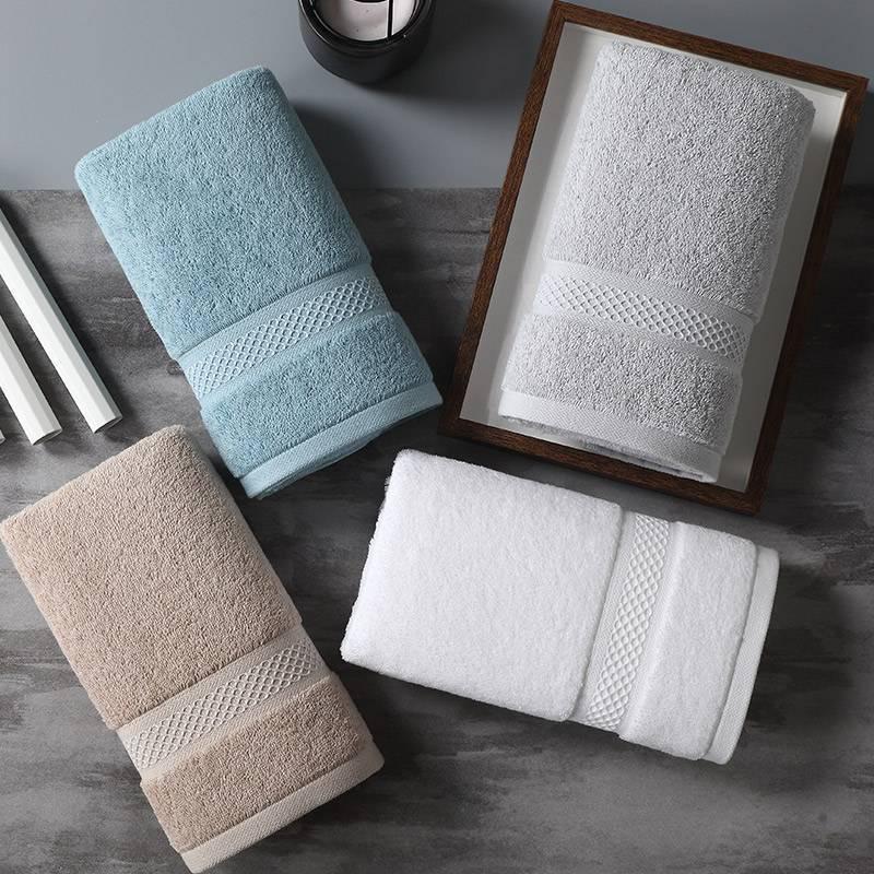 五星级酒店摩纳哥抗菌毛巾纯棉洗脸家用毛巾洗脸全棉面巾成人加厚