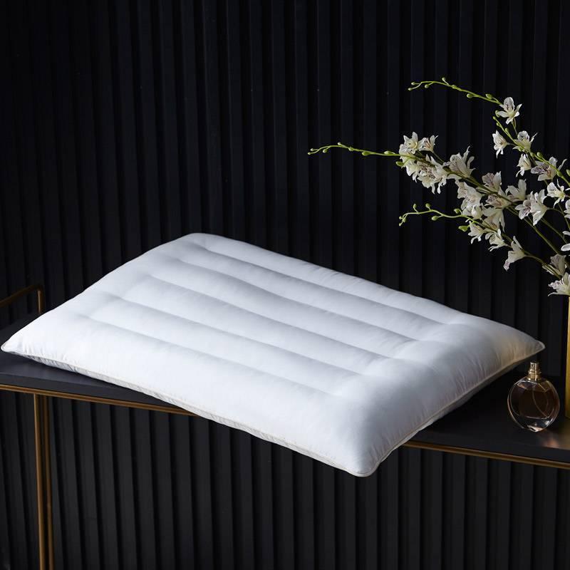 矮枕五星级酒店枕头成人全棉家用水洗枕头男女护颈矮枕枕芯单人