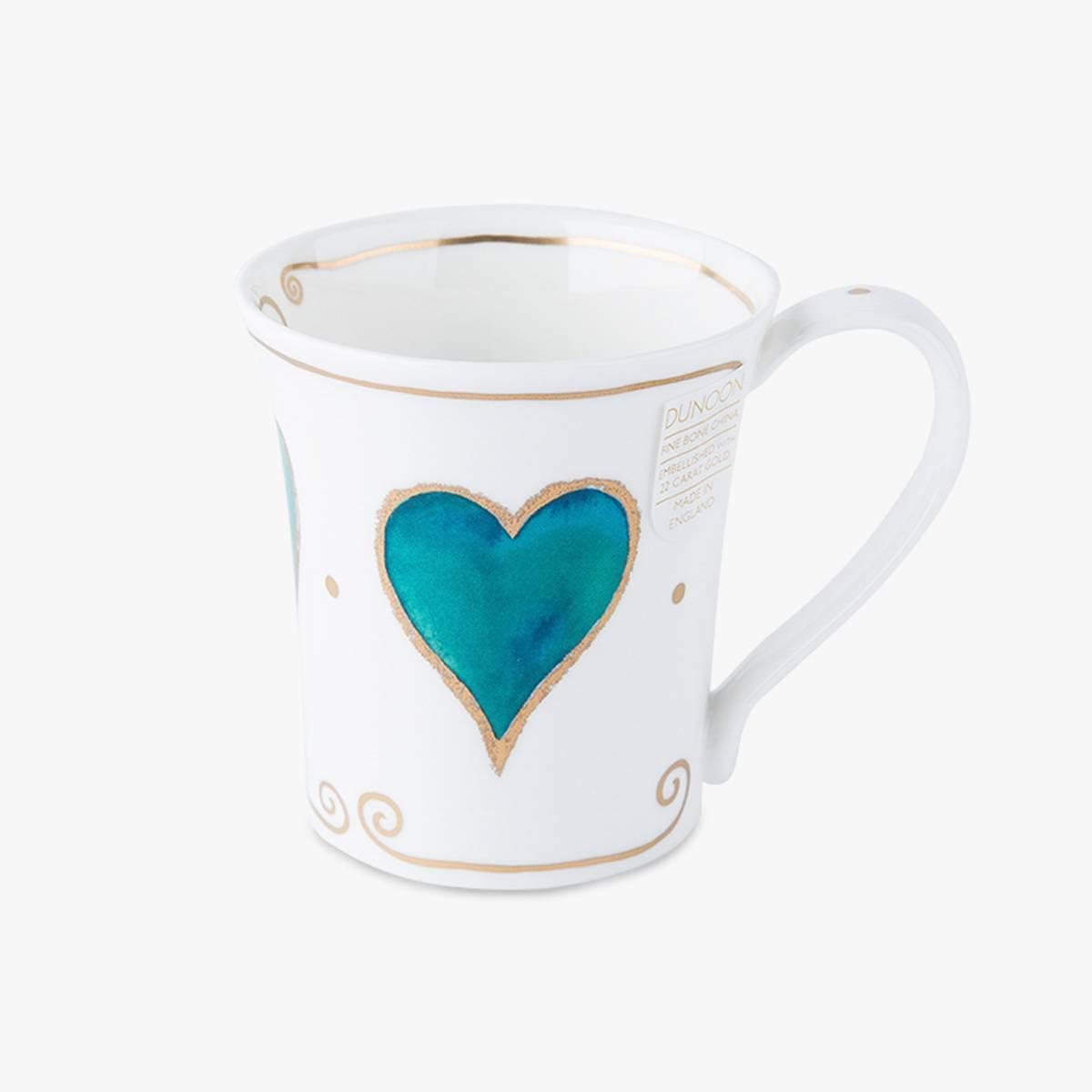 英国原产DUNOON丹侬骨瓷马克杯水杯Jura型