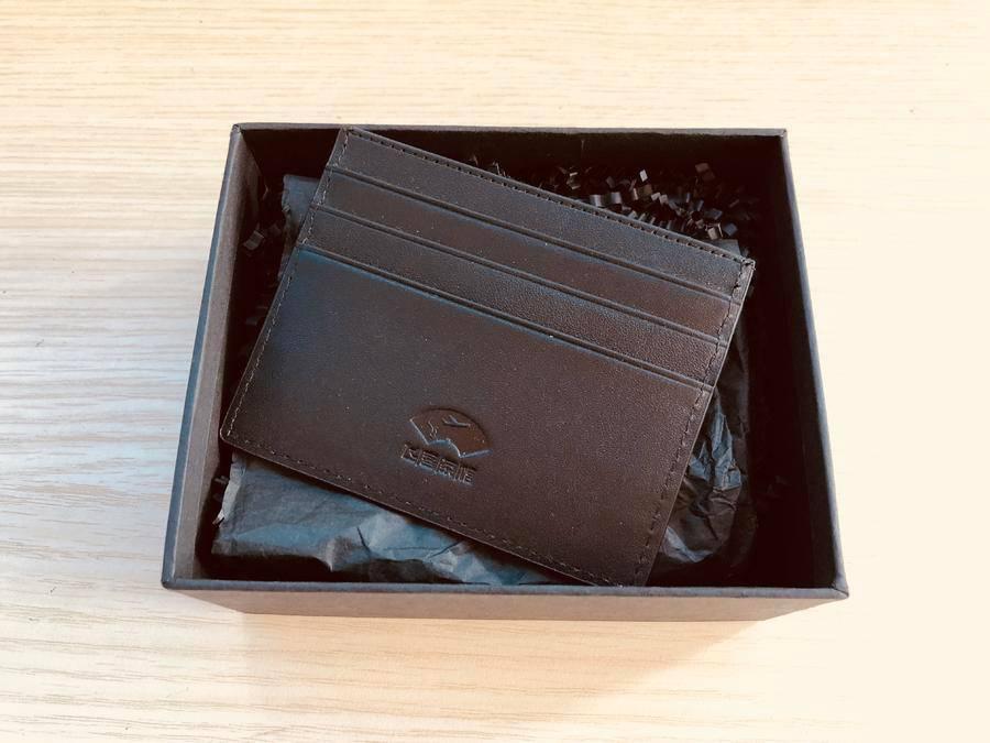 飞客茶馆logo定制头层牛皮卡包、钱包   铁粉必备