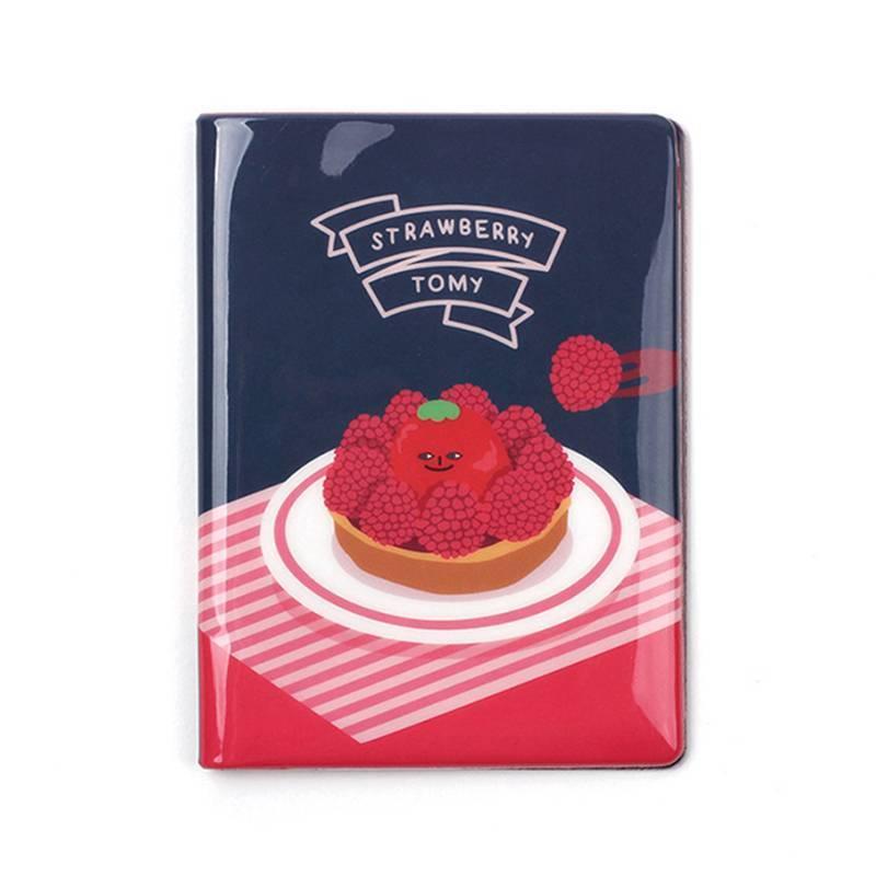 韩国原产LUCALAB短款卡通护照夹收纳夹皮夹